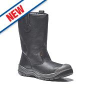 Scruffs Gravity Rigger Safety Boots Black Size 10