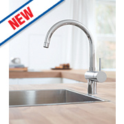 Grohe Flair Touch Kitchen Monobloc Sink Mixer Tap Chrome