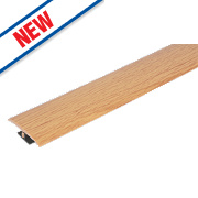 Vitrex Variable Height Wood/Laminate Floor Threshold Light Oak 50 x 900mm
