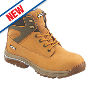 JCB Fast Track Safety Boots Honey Size 12