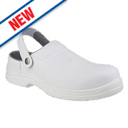Amblers FS512 Sandal Safety Shoes White Size 9
