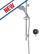 Bristan Artisan Evo HP Rear Fed Thermostatic Mixer Shower w/Digital Control Black