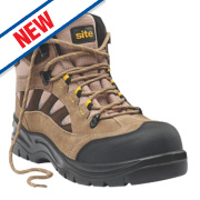 Site Granite Safety Trainer Boots Stone Size 9