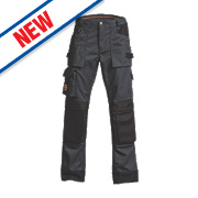"""Timberland Pro Floorlayer Trousers Charcoal 31"""" W 32"""" L"""
