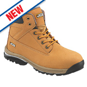 JCB Workmax Safety Boots Honey Size 10