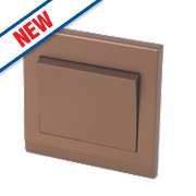 Retrotouch Simplicity 1-Gang 2-Way 10A Switch Bronze