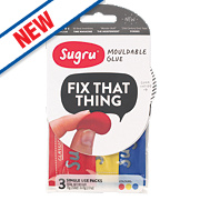 Sugru Mouldable Glue Multicolour Pack of 3