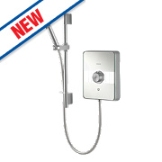 Aqualisa Lumi Electric Shower Chrome / Glass 8.5kW