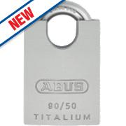 Abus Aluminium Closed Shackle Padlock 50mm