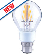 LAP GLS Virtual Filament LED Lamp Clear BC 7W