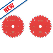 Freud Pro TCT Circular Saw Blades Twin Pack 165mm x 30mm Bore