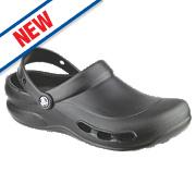 Crocs Vent Non-Safety Work Shoes Black Size 8