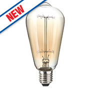 Sylvania Squirrel Cage Incandescent Vintage Lamp ES 60W