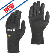 Snickers Weather Flex Grip Performance Gloves Black Large