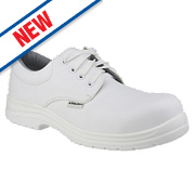 Amblers FS511 Safety Shoes White Size 8