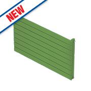 Moretti Modena Single Panel Horizontal Radiator Green 578 x 1400mm