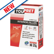 Toupret Powdered Interior Filler