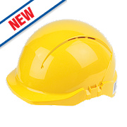 Centurion Concept Vented Safety Helmet Yellow