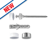 Rawlplug 67484 WC / Bidet Fixing Kit