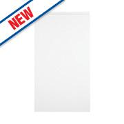White Kitchens Gloss Handleless 400 Base/Wall Door 396 x 732mm