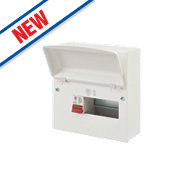 MK Sentry 8-Way Metal Consumer Unit with 100A Main Switch
