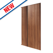 Spacepro 2 Door Panel Sliding Wardrobe Doors Walnut 1499 x 2260mm
