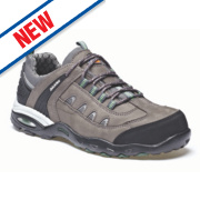 Dickies Rushden Safety Trainers Grey Size 8