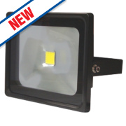 LAP Slimline LED Floodlight Black 50W