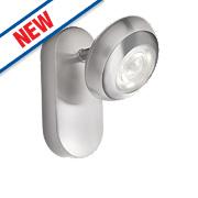 Philips myLiving Sepia LED Wall Spotlight Matt White 4W 220-240V