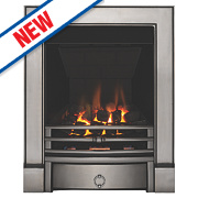 Focal Point Soho Multiflue Gas Fire Chrome Inset 6.2kW