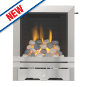 Focal Point Lulworth Full Depth Gas Fire Stainless Steel Inset 6.8kW