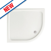 Aqualux Aqua 45 Quadrant Shower Tray 900 x 900 x 45mm
