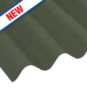 Coroline Corrugated Roofing Sheet Green 2000 x 950mm