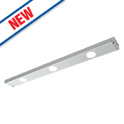 Saxby Picard LED Linear Cabinet Display Light Bar Anodised Silver