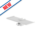 Watersmith Shower Storage Shelf Injection White