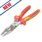"Knipex 5-in-1 VDE Electrical Installation Pliers 8"" (200mm)"