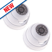 Yale HDC-302W-2 CCTV Dome Camera Pack of 2
