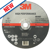 3M High Performance Metal Grinding Disc 230 x 7 x 22.23mm Bore