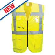 Portwest Hi-Vis Thermal Waistcoat Yellow Medium 41