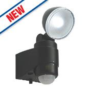 Saxby Laryn PIR LED Floodlight & PIR Black 2W