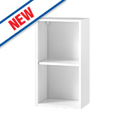White Kitchens Wall Cabinet 400 x 282 x 738mm