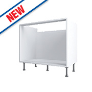 White Pan Drawer Base Cabinet 800 x 570 x 880mm