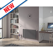 Moretti Ravello Horizontal Designer Radiator Anthracite 584x1000mm