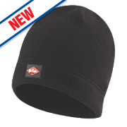 Lee Cooper Fleece Knit Beanie Hat Black