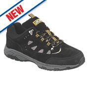 JCB Trekker Safety Trainers Black Size 9
