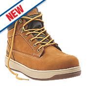 Site Touchstone Safety Boots Dark Honey Size 7