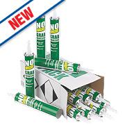 No Nonsense Solvented Grab Adhesives 350ml Pack of 12