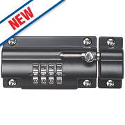 Sterling Die-Cast Zinc Combination Locking Bolt 110mm