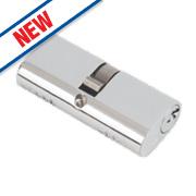 Eurospec Keyed Alike Oval Cylinder Lock 30-30 (60mm) Polished Chrome