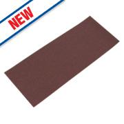 Flexovit Sanding Sheets Aluminium Oxide 230 x 115mm 80 Grit Pack of 5